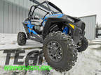 2018 Polaris RZR XP Turbo EPS - Velocity Blue