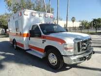 2010 Ford F-350 XL Wheeled Coach Emergency Paramedic Ambulance
