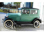 1929 Ford Model A Black|Green, 86K miles