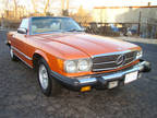 1980 Orange Mercedes-Benz 450 SL