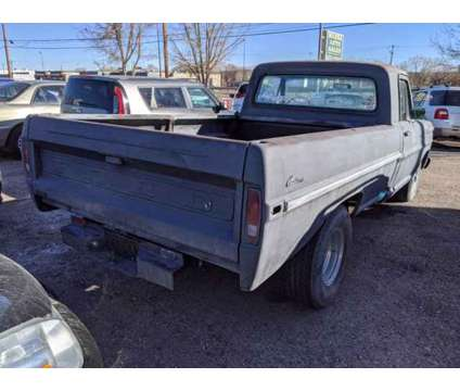 1972 Ford F100 is a Black 1972 Ford F-100 Classic Car in Colorado Springs CO