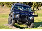 1993 Land Rover Defender Convertible Blue Manual