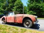 1959 Jaguar XK Drop Head Coupe Convertible