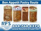 Business For Sale: Bon Appetit Pastry Route For Sale