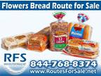 Business For Sale: Flowers Bread Route Distributorship For Sale