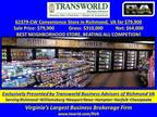 Business For Sale: Convenience