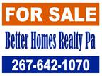 Selling Home or Commercial Pro