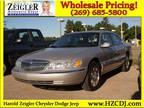 2002 Lincoln Continental 4 Dr Sedan