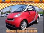 2009 Smart Fortwo Convertible passion cabriolet
