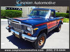 1982 Jeep J10 Honcho Regular Cab Pickup 2-Dr