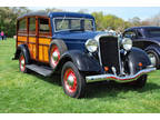 1935 Dodge Woodie Wagon 4 door Blue and Black Very Rare
