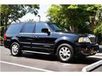 2003 Black Lincoln Navigator SUV