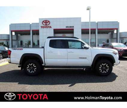 2019 Toyota Tacoma TRD Off Road is a White 2019 Toyota Tacoma TRD Off Road Car for Sale in Mount Laurel NJ