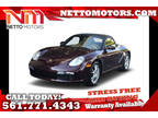 2007 Carmon Red Metallic Porsche Boxster