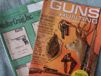 Guns & Hunting Magazine 1966 & Walter Craig Catalog 1983