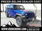 2019 Jeep Wrangler Unlimited Blue