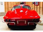 1963 Red Chevrolet Corvette
