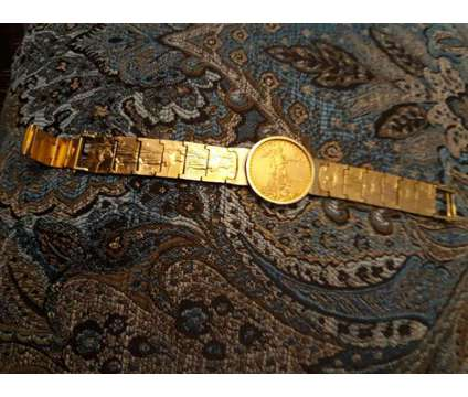 2019 AMERICAN EGALE GOLD COIN WITH 116 gr 22CT SOLID GOLD BEND is a Bracelets for Sale in Phoenix AZ