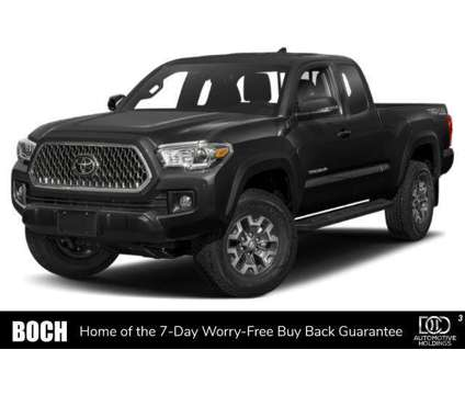 New 2019 Toyota Tacoma 4WD is a Black 2019 Toyota Tacoma Car for Sale in Norwood MA