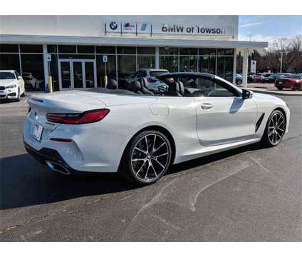 New 2019 BMW 8 Series Convertible is a White 2019 BMW 8-Series Convertible in Towson MD