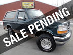 1995 Deep Forest Green Metallic Ford Bronco