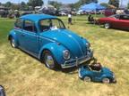 1965 Blue Volkswagen Beetle