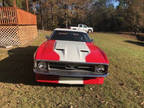 1971 Red Ford Mustang