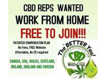 Cbd Reps Wanted