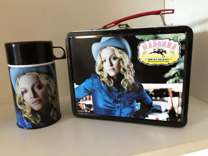 Madonna Music Lunch Box W/Thermos
