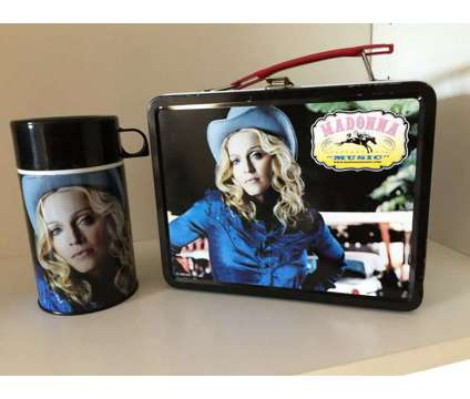 Madonna Music Lunch Box W/Thermos is a New Collectibles for Sale in Wescosville PA