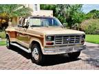1985 Ford F-350 Pickup Original Factory 4 Speed