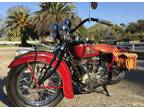 1938 Indian Chief Vintage Motorcycle