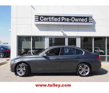 Used 2018 BMW 3 Series Sedan is a Grey 2018 BMW 3-Series Car for Sale in Manchester NH