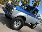 1966 Blue Ford BRONCO