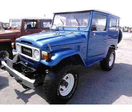 Used 1985 Toyota FJ 40 for sale is a Blue 1985 Car for Sale in Miami FL