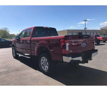 2019 Ford Super Duty F-250 SRW LARIAT is a Red 2019 Ford Car for Sale in Milford MA