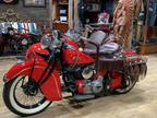 1940 Indian Chief With Goulding Side Car