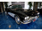 1961 Black Chevrolet Corvette