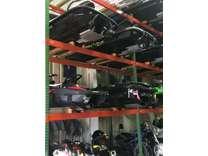Pallet Racking for Engines, Transmissions, Steering, Wheels, Rims, Tires, Doors,