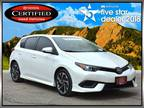 2016 Scion iM White, 48K miles