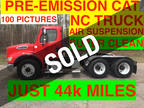 2005 Red Freightliner TANDEM DAYCAB JUST 44k MILES ONE OWNER NC TRUCK