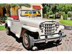 1950 Willys Jeepster 134cid 3 Speed