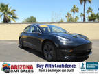2018 Obsidian Black Metallic Tesla Model 3