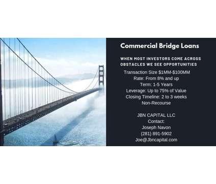 Commercial Bridge Loans is a Financial Loans service in Houston TX