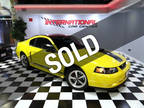 2004 Screaming Yellow Ford Mustang