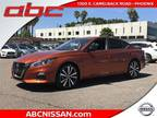 2019 Nissan Altima Red, 12 miles