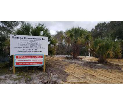 Florida land indestructible home for sale by owner at 5293 Basket Street in North Port FL is a Land