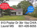 Home For Rent In Laurel, Ms