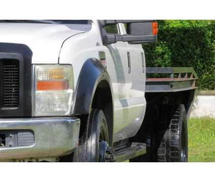 Used 2009 Ford F550 Super Duty Crew Cab & Chassis for sale is a White 2009 Ford F-550 Car for Sale in Hollywood FL
