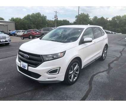 2017 Ford Edge Sport is a Silver, White 2017 Ford Edge Sport SUV in Warrensburg MO